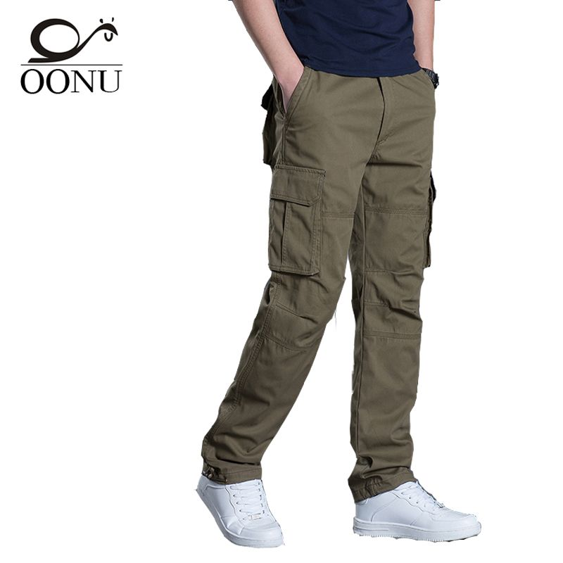 YOLAO new High Quality Men's Cargo Pants Casual Military for Men Overalls tactical Trousers Men Camouflage fashion