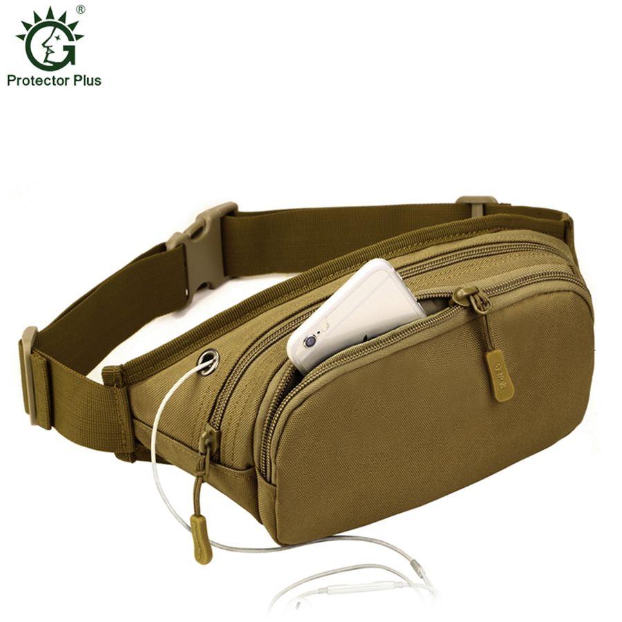 2017 sac de taille unisexe en Nylon imperméable sac de Fanny tactique hommes et femmes paquet de hanche militaire pour iphone portefeuille sac de ceinture