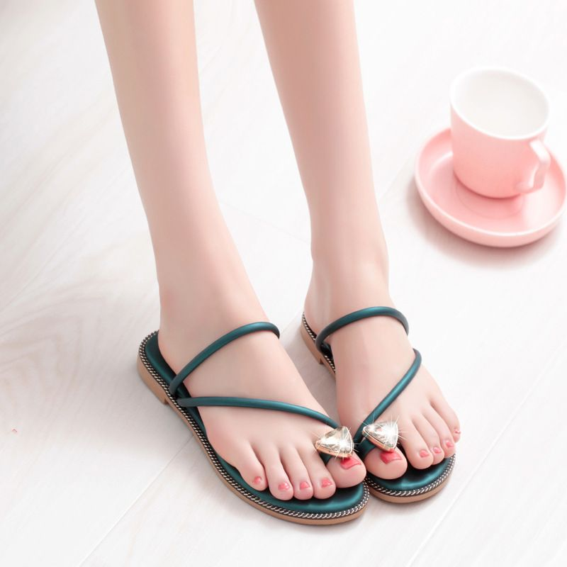 BUMIAN YFXC Free Shipping 2018 New National Style Women Sandals Bohemia Flats