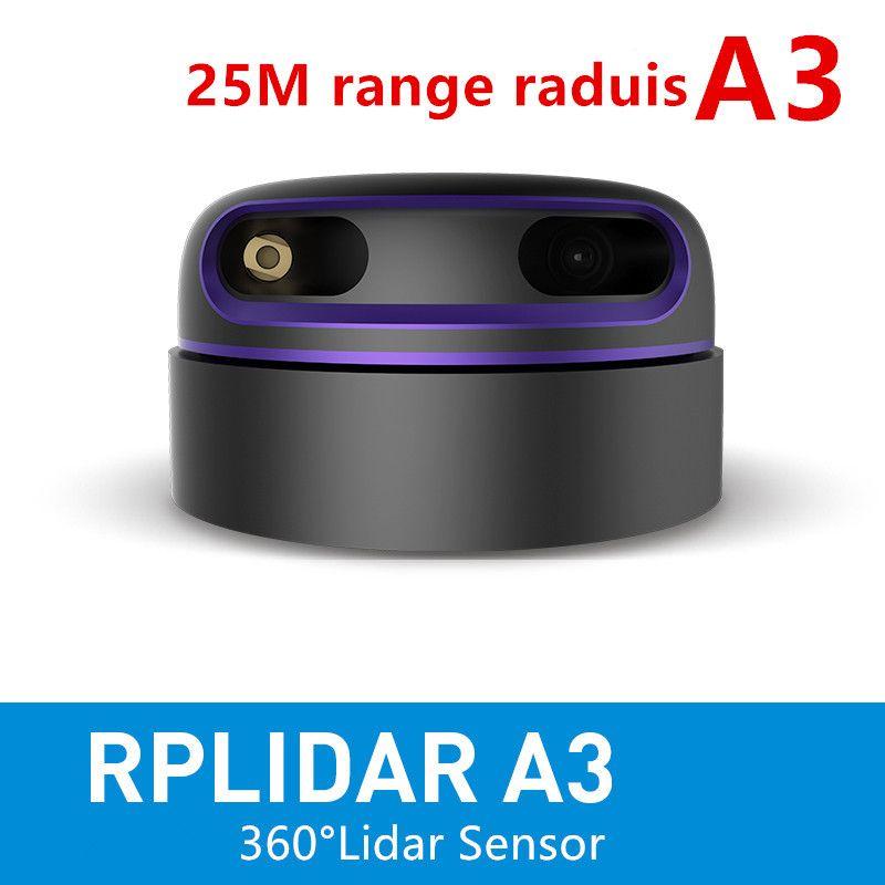 Slamtec RPLIDAR A3 2D 360 grad 25 meter scannen radius lidar sensor für hindernis vermeidung und navigation von AGV UAV