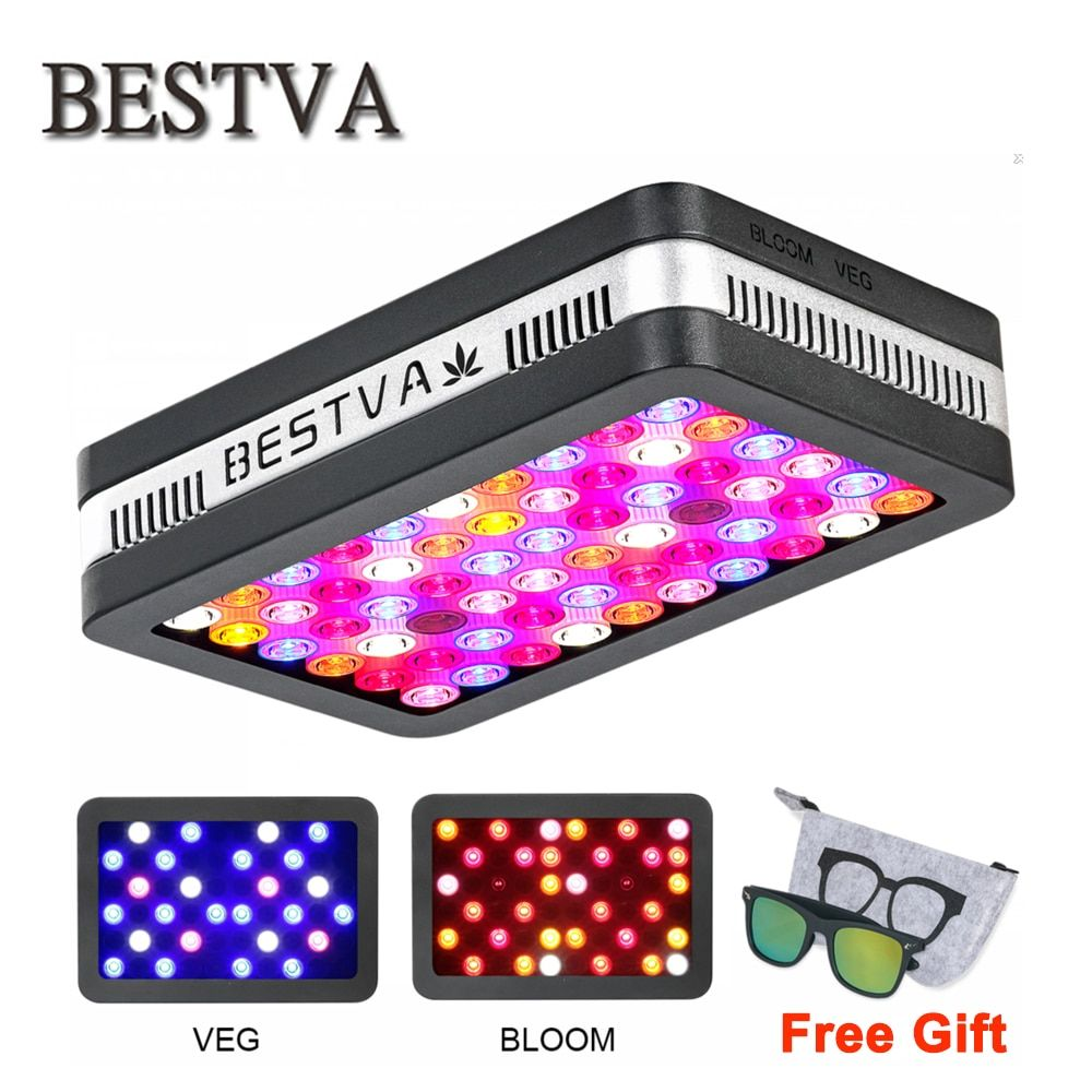 BestVA LED grow <font><b>light</b></font> Elite600W 1200W 2000W Full Spectrum for Indoor Greenhouse grow tent plants grow led <font><b>light</b></font> Veg Bloom mode