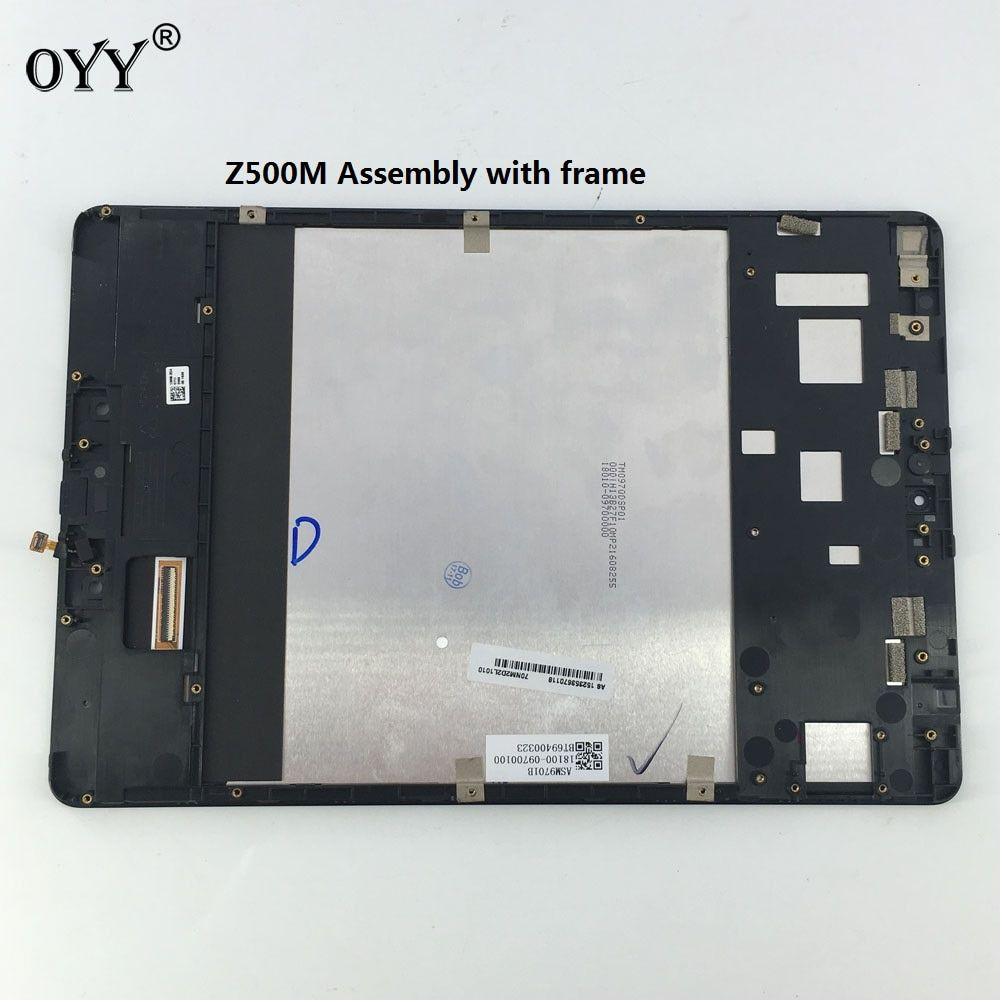 LCD Display Panel Screen Monitor Touch Screen Digitizer Glass Assembly with frame For ASUS ZenPad 3S 10 Z500M P027