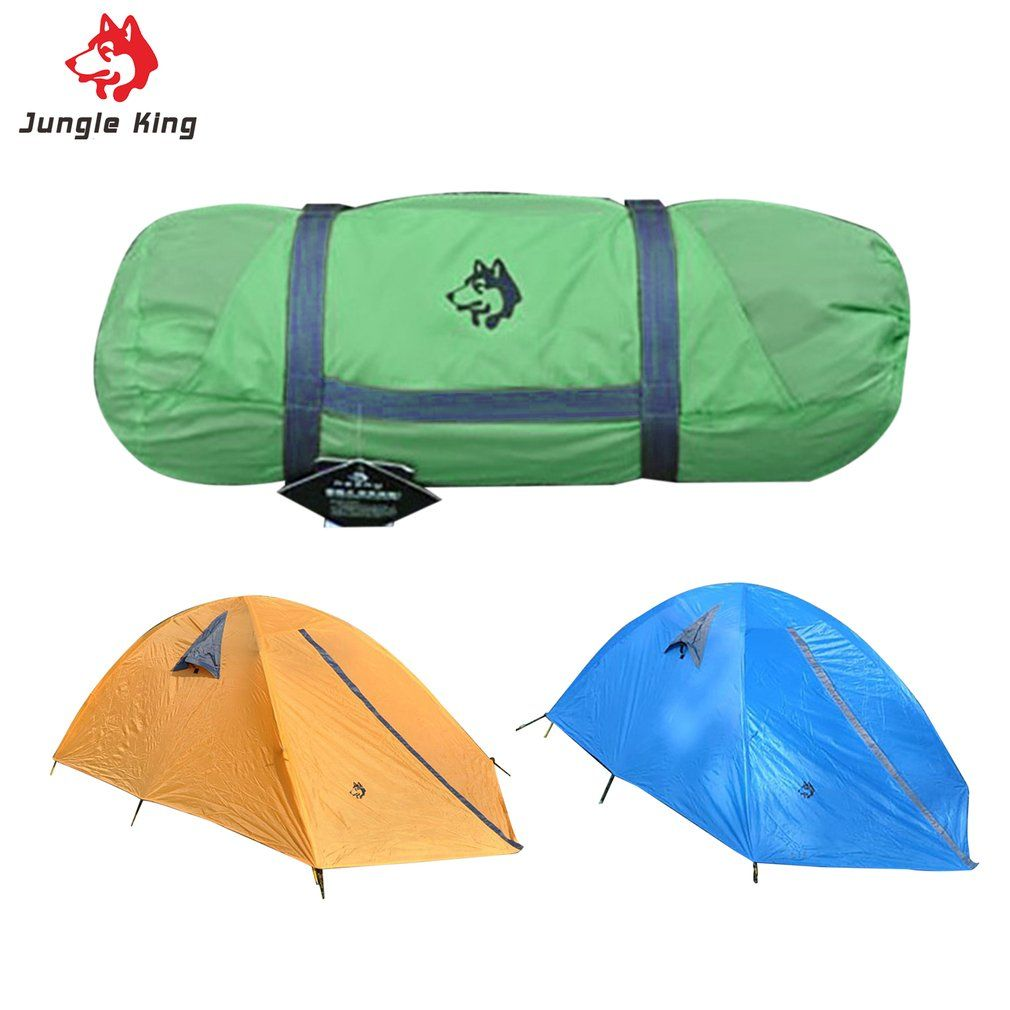 Glass Fiber Fiberglass Rod Camping Tent For Outdoor Travel Hiking Climbing Picnic Beach Tent Rainproof Windproof Waterproof