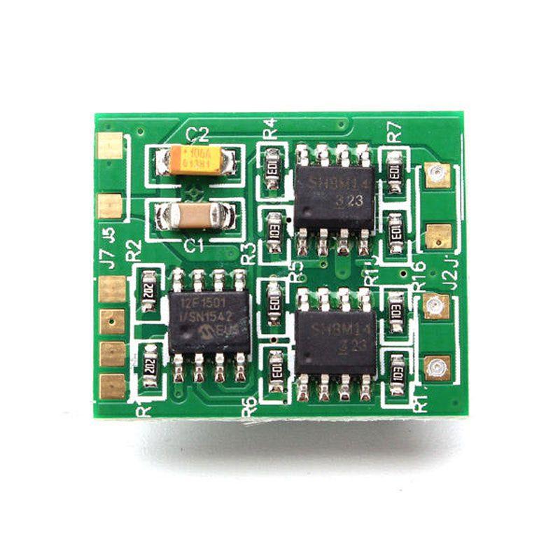 DasMikro 2S6A Micro Dual Bi-Directional Speed Controller für RC Tank Mit Mix Control