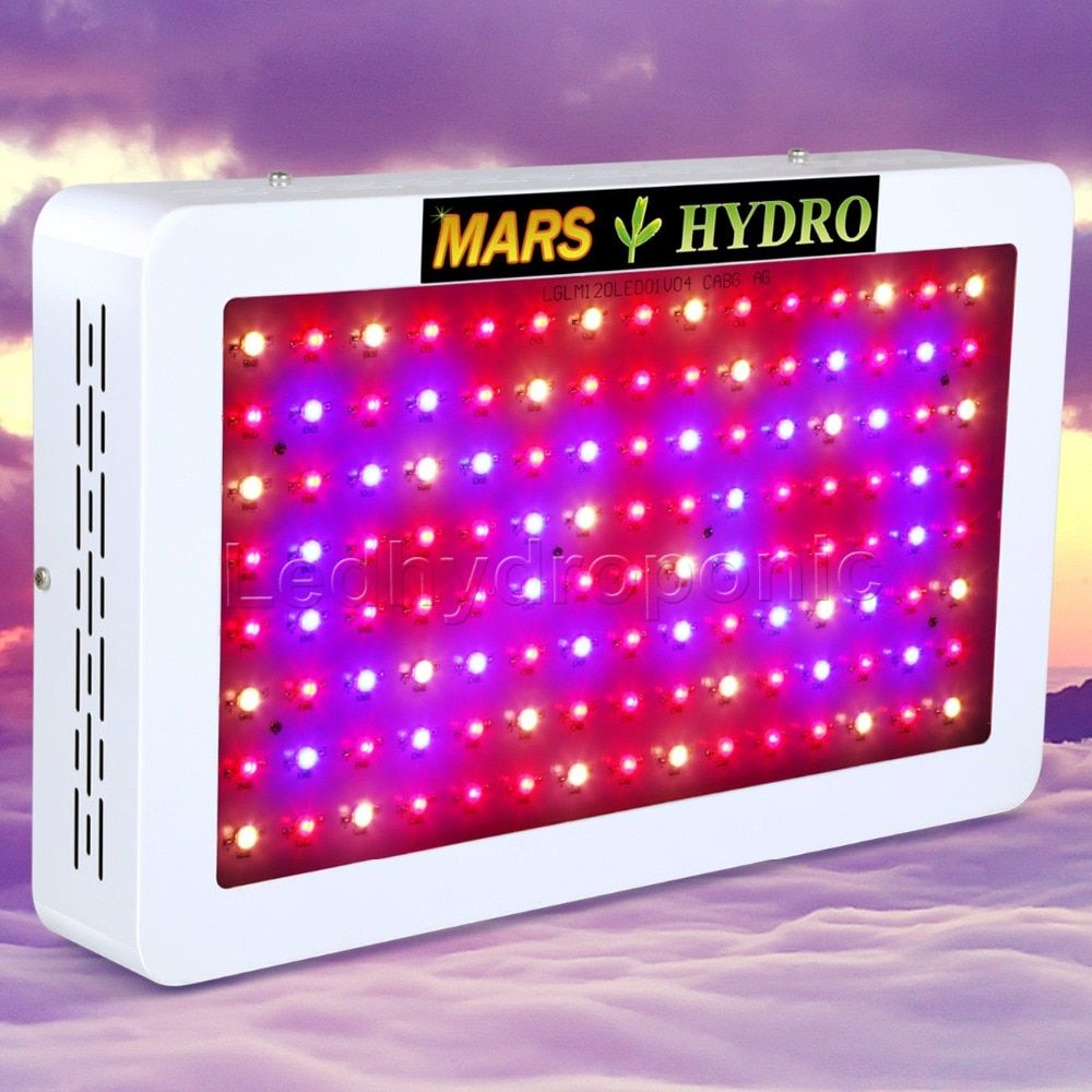 Mars 600W LED Full Spectrum Grow Light Hydroponic System for Indoor Garden