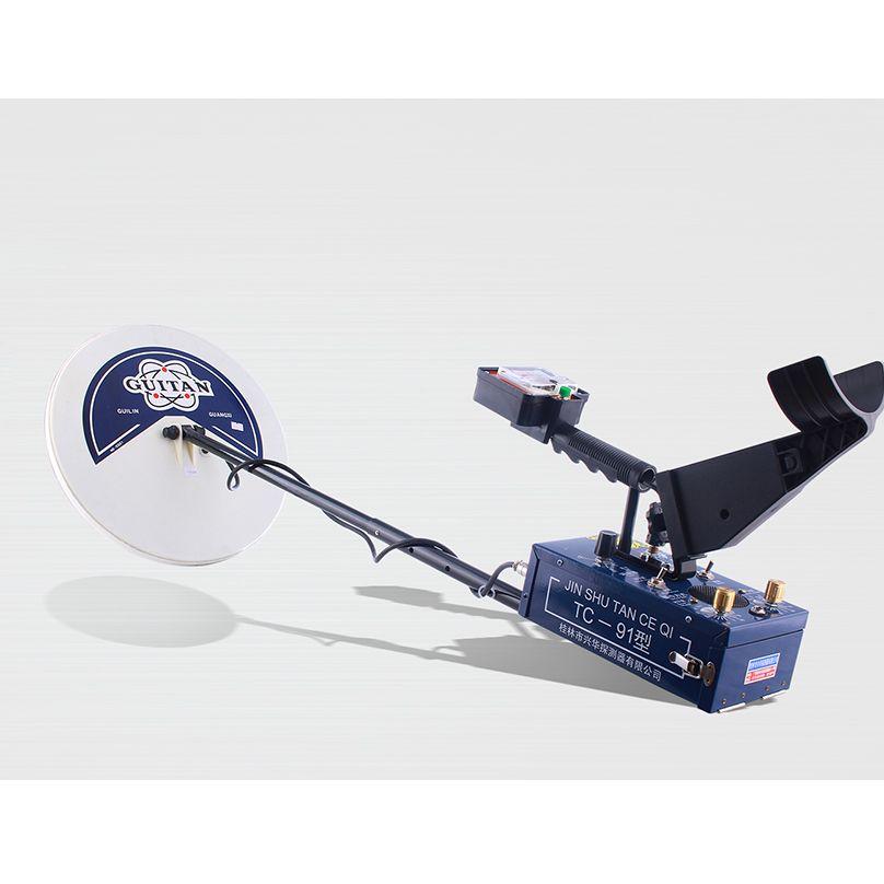 2 spulen Professionelle Metall Detektor High Sensitive TC-91 Wasserdichte Tiefe 3,5 m Suche Schatz Hunter Gold Metalle Detektoren