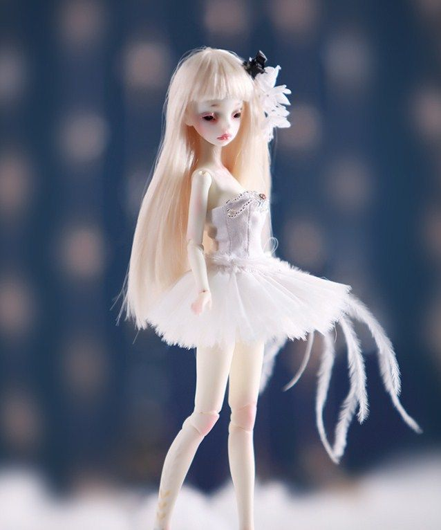 AQK(AQK)1/8 BJD/SD points doll flower fairy human Free eyes