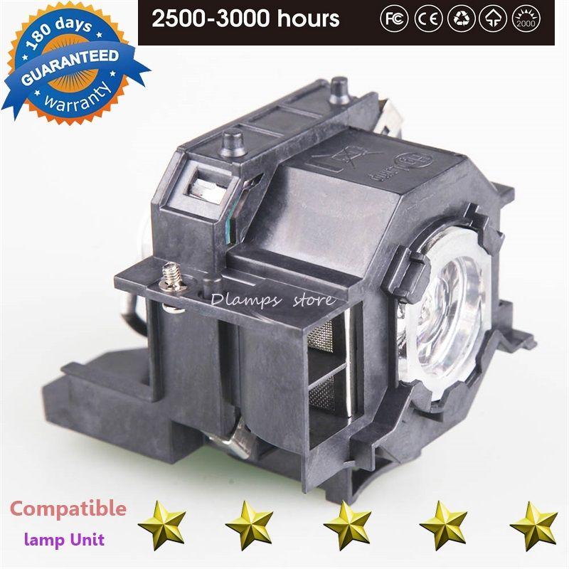 Haute Qualité ELPLP42 Nouveau Remplacement Lampe De Projecteur avec Boîtier Pour EPSON EMP-400W EB-410W EB-140 W EMP-83H PowerLite 822 H330B