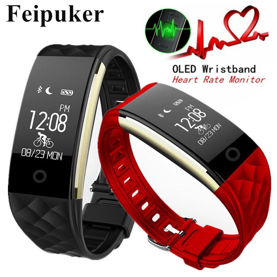 Мода Музыка Управление Плавание Bluetooth Подключение Смарт часы SmartWatch мониторинга сердечного ритма Фитнес Часы Android IOS