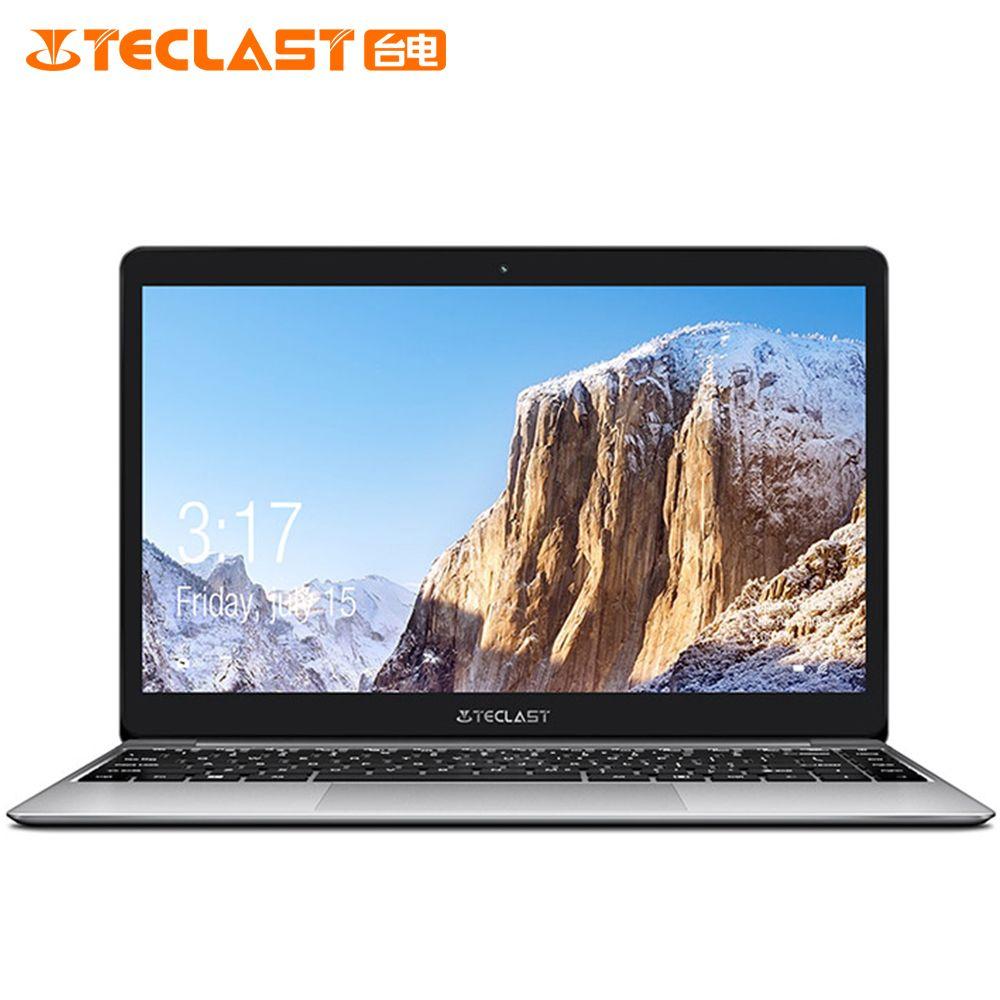 Teclast F7 Plus Notebook 14,0 ''Windows 10 Thuis Versie Intel Gemini See N4100 Quad Core 1,1 GHz 8 GB RAM 128 GB SSD Laptop