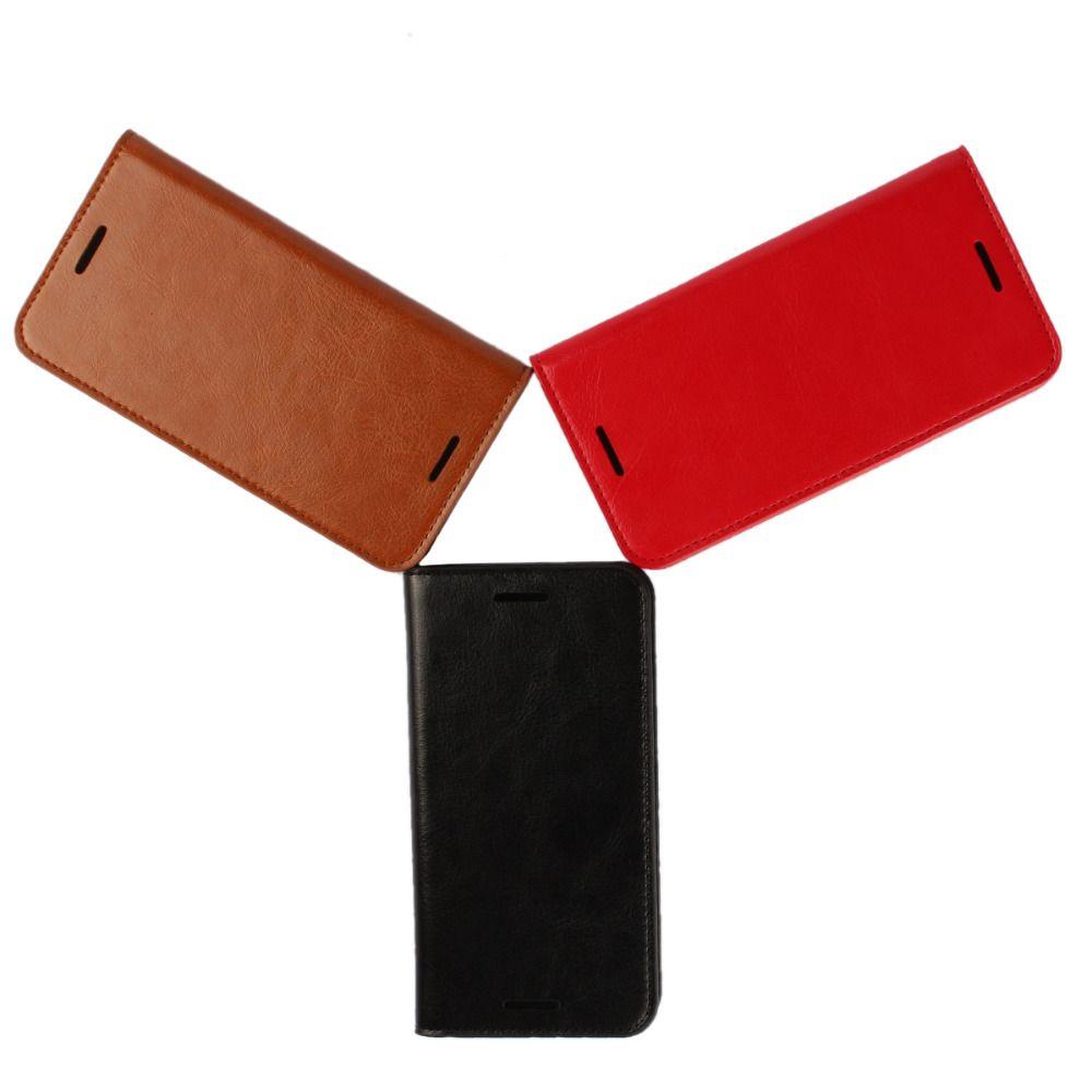 Coque pour LG Nexus 5X Nexus5X véritable étui à rabat en cuir véritable housse de protection Fundas marron noir Capa Etui accessoires sacs