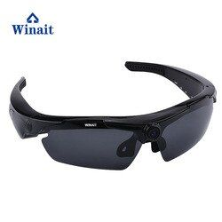 Winait HD 720P Mini Digital Video Camera Sunglasses Mini DV Remoter Control Sports Sunglasses freeshipping