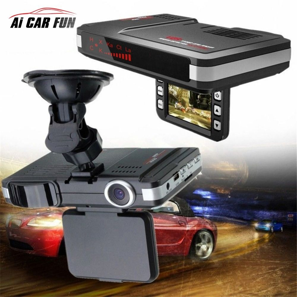 2017 Car Dvr camera Anti radar detector flow dectcting 2 in 1 speedcam Dash cam car camera car-detector video recorder camcorder