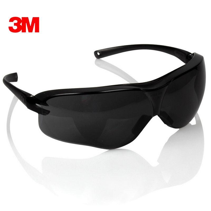 3 M 10435 lunettes de Protection noir pour lunettes de soleil Anti-UV Anti-buée Anti-choc Anti-poussière lunettes de Protection des yeux