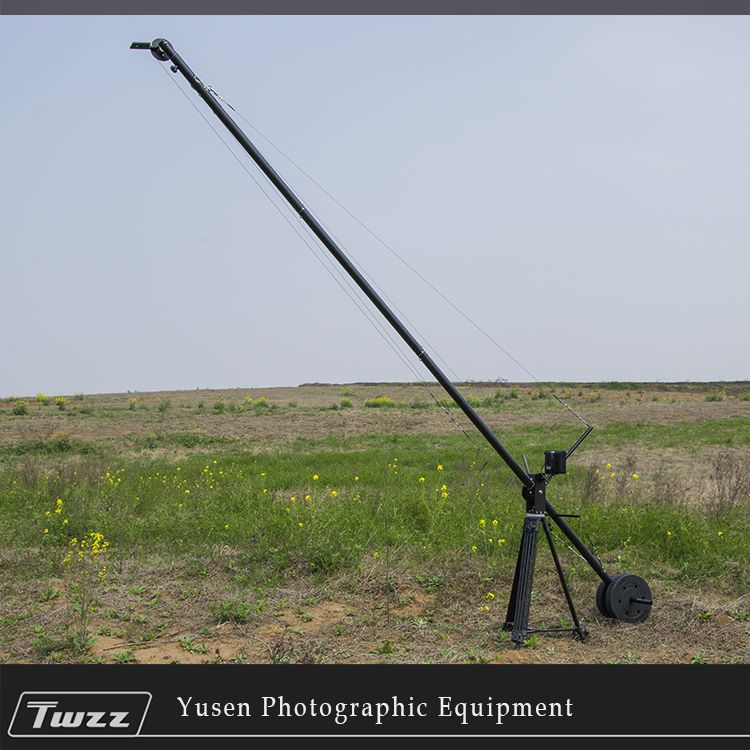 Twzz 4m Camera Lifting Arm video grue Jib Crane Rocker Arm For DSLR's Movie Feature Film Video Removable
