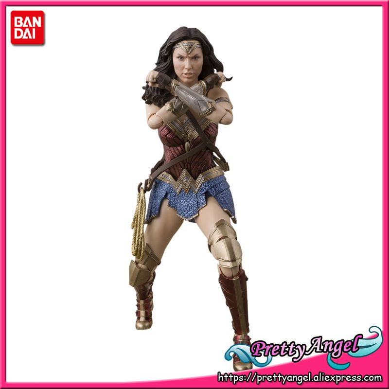 PrettyAngel - Genuine Bandai Tamashii Nations S.H. Figuarts Justice League Wonder Woman (JUSTICE LEAGUE) Action Figure