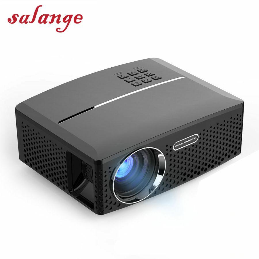 Billige Digitale Projektor GP80 GP80UP 1800 Lumen 800*480 HDMI USB PC FÜHRTE Proyector China Schule Projektoren