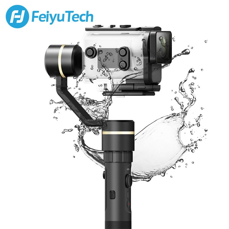 FeiyuTech G5GS Handheld Gimbal Stabilizer for Sony AS50 AS50R X3000 X3000R Camera Splash Proof 130g-200g Payload Feiyu