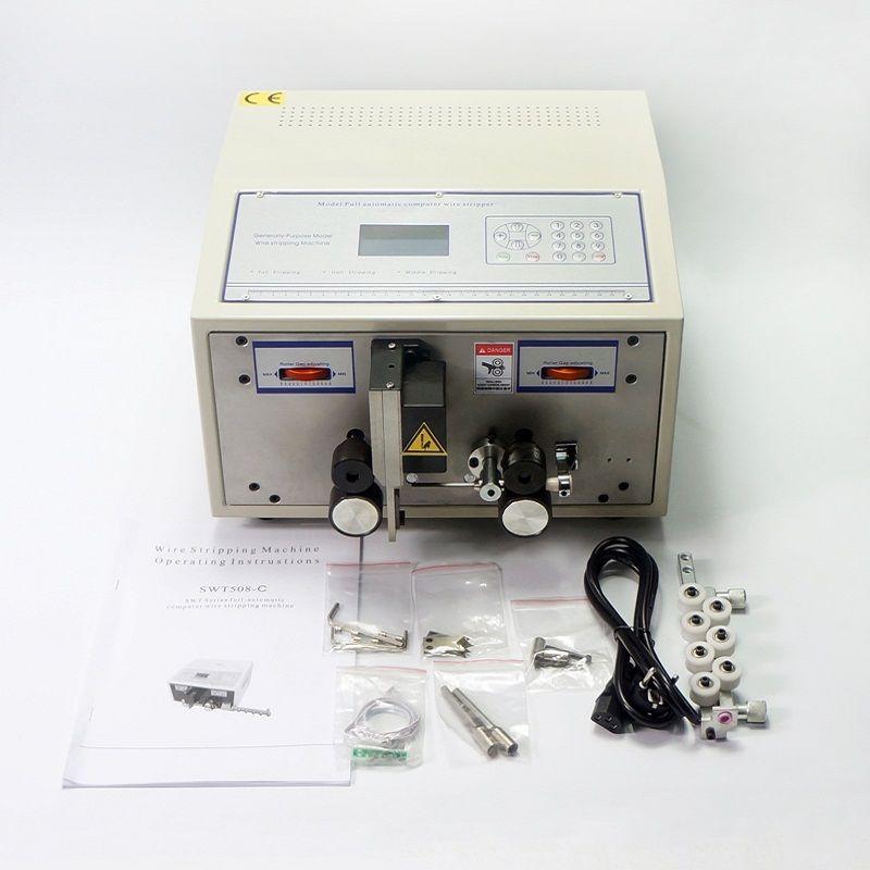 Computer draht kabel stripper twister maschine SWT508C für schneiden peeling striping 2.5mm2 kabel draht