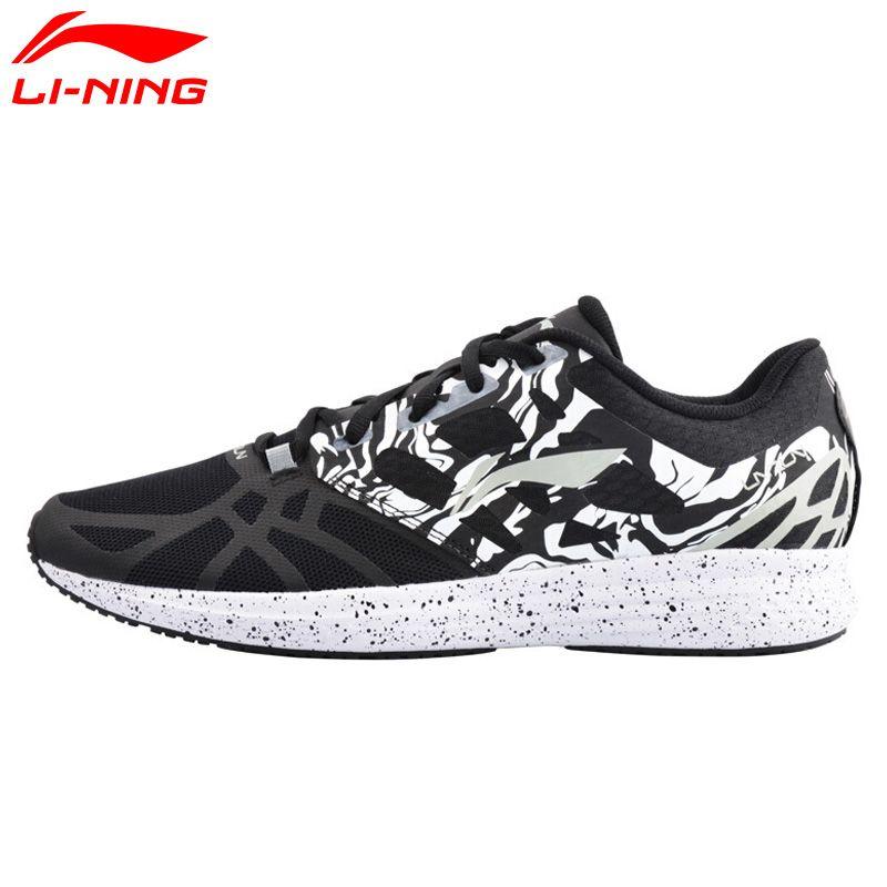 Li Ning Herrenschuhe Geschwindigkeit Stern Kissen Laufschuhe Leuchten Atmungs Li Ning Turnschuhe Schuhe Sportschuhe ARHM021