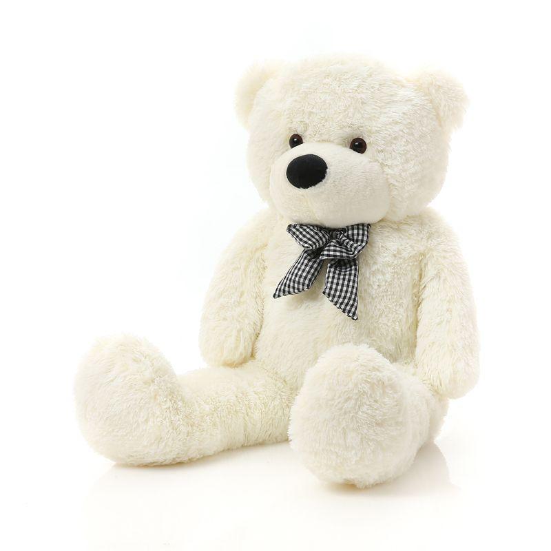 Niuniu papa géant ours en peluche peau grand jouet en peluche peluche non peluche peaux d'animaux grande peluche ours peau 160 cm à 200 CM