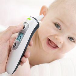 ELERA nuevo termómetro IR infrarrojo Digital LCD bebé frente y oído sin contacto cuerpo adulto fiebre medida Termometro TH550