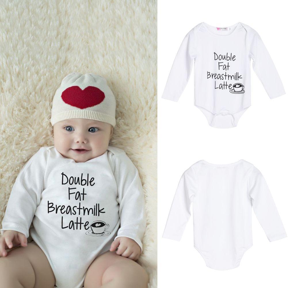 Брендовая Одежда для новорожденных с длинным рукавом хлопок вышивать ребенка Комбинезоны для малышек Обувь для девочек Одежда для мальчик...