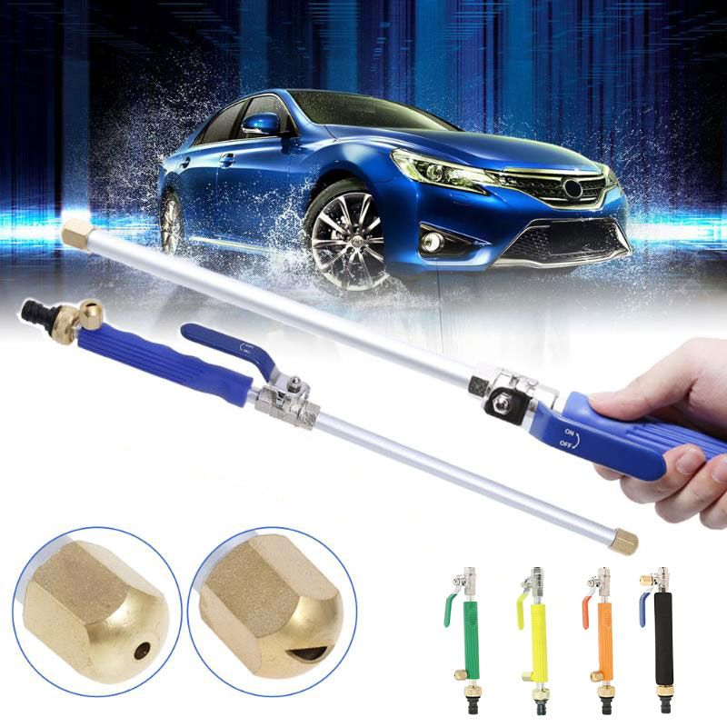 Car High Pressure Power Water Gun Washer Water Jet 46.5/66cm Garden Washer Hose Wand Nozzle Sprayer Watering Sprinkler Tool