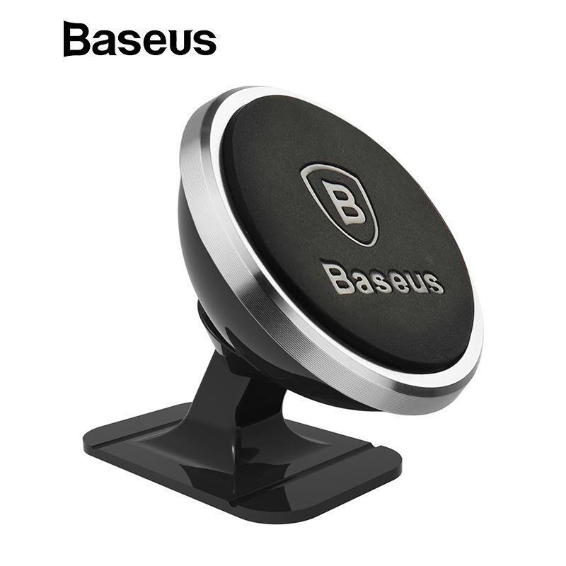 Baseus Universal Auto Telefon Halter 360 Grad GPS Magnetische Handy Halter Für iPhone X 8 Samsung Air Vent Halterung halter Stehen
