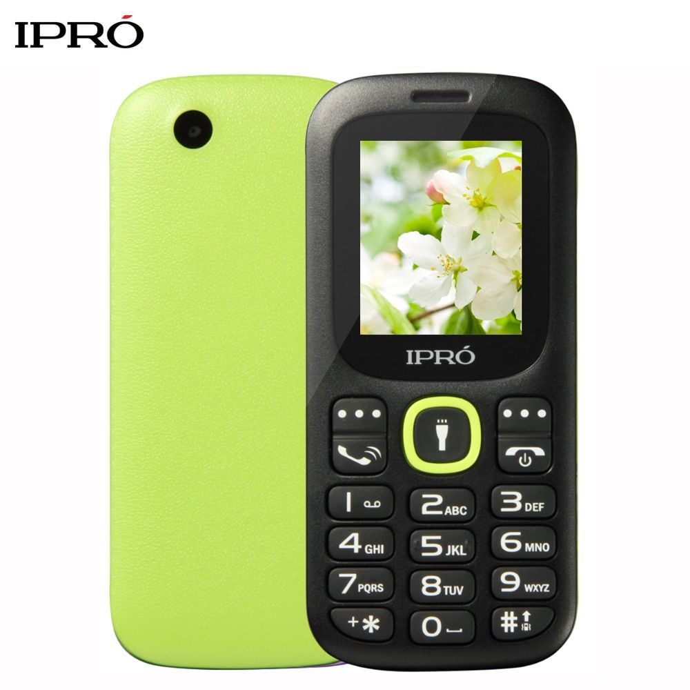 Russian Language Original IPRO I3185 1.8 Inch Push-Button Mobile Phone China GSM Dual SIM Card Standby Handphone Seniors Kids