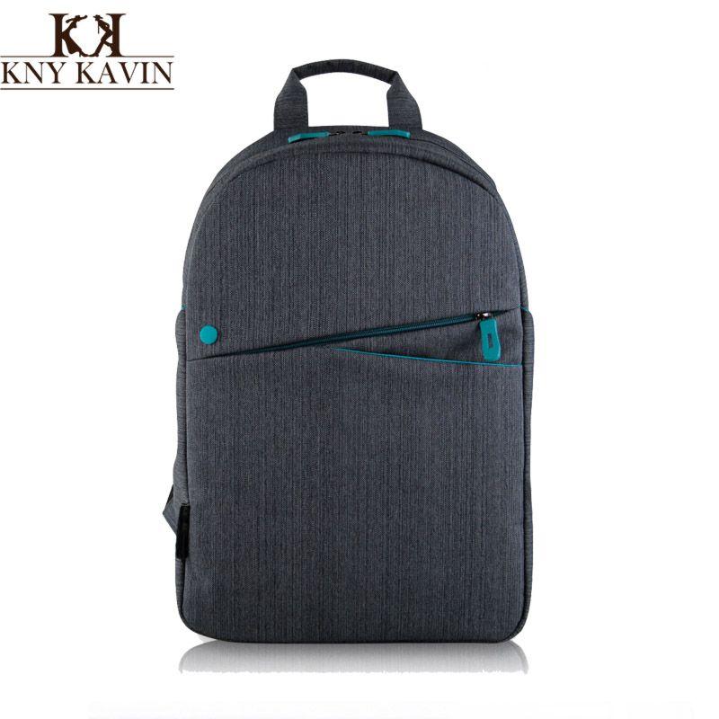 KNY KAVIN Men Backpacks Bolsa Mochila for Laptop 15 Inch 15.6 Inch Notebook Computer Tablet Bags Male Backpack School Rucksack
