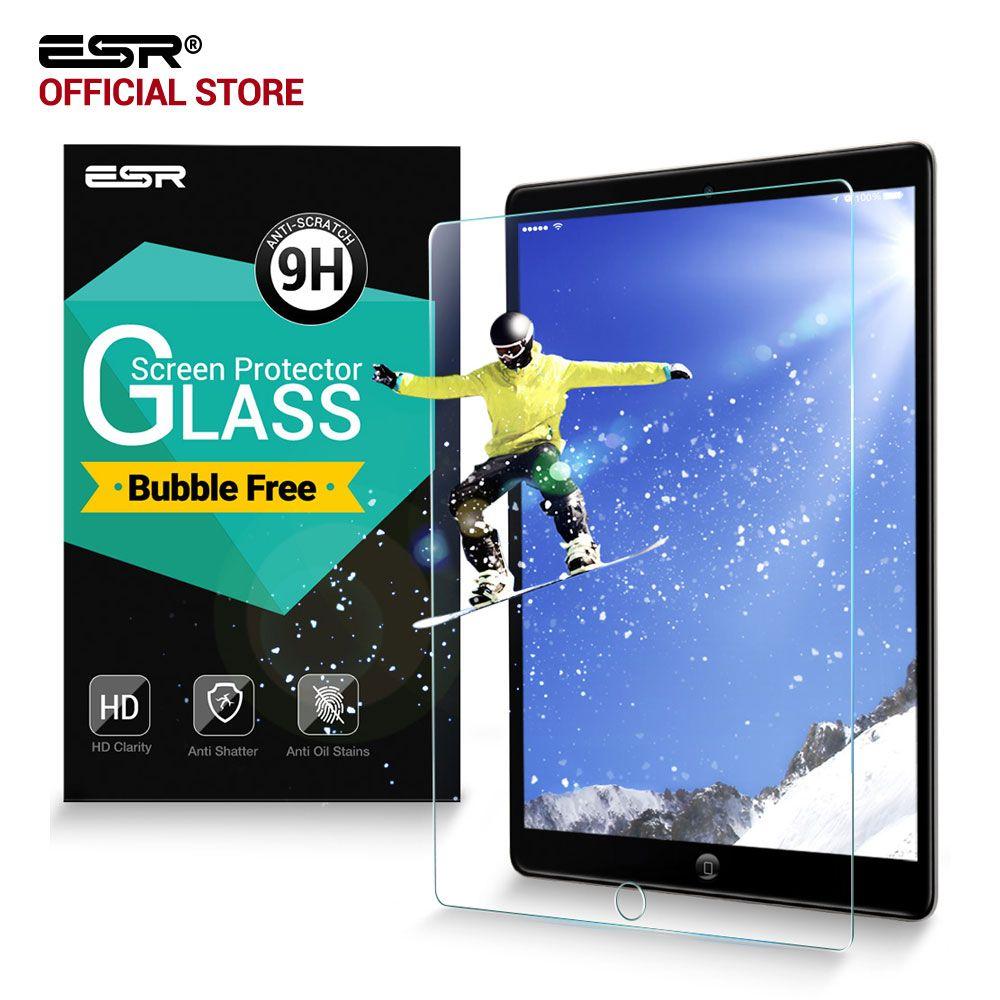 Displayschutzfolie für iPad 2 3 4, ESR Gehärtetem Glas 9 H HD Löschen Blasenfreie Schutzfolie displayschutzfolie für iPad 2/3/4