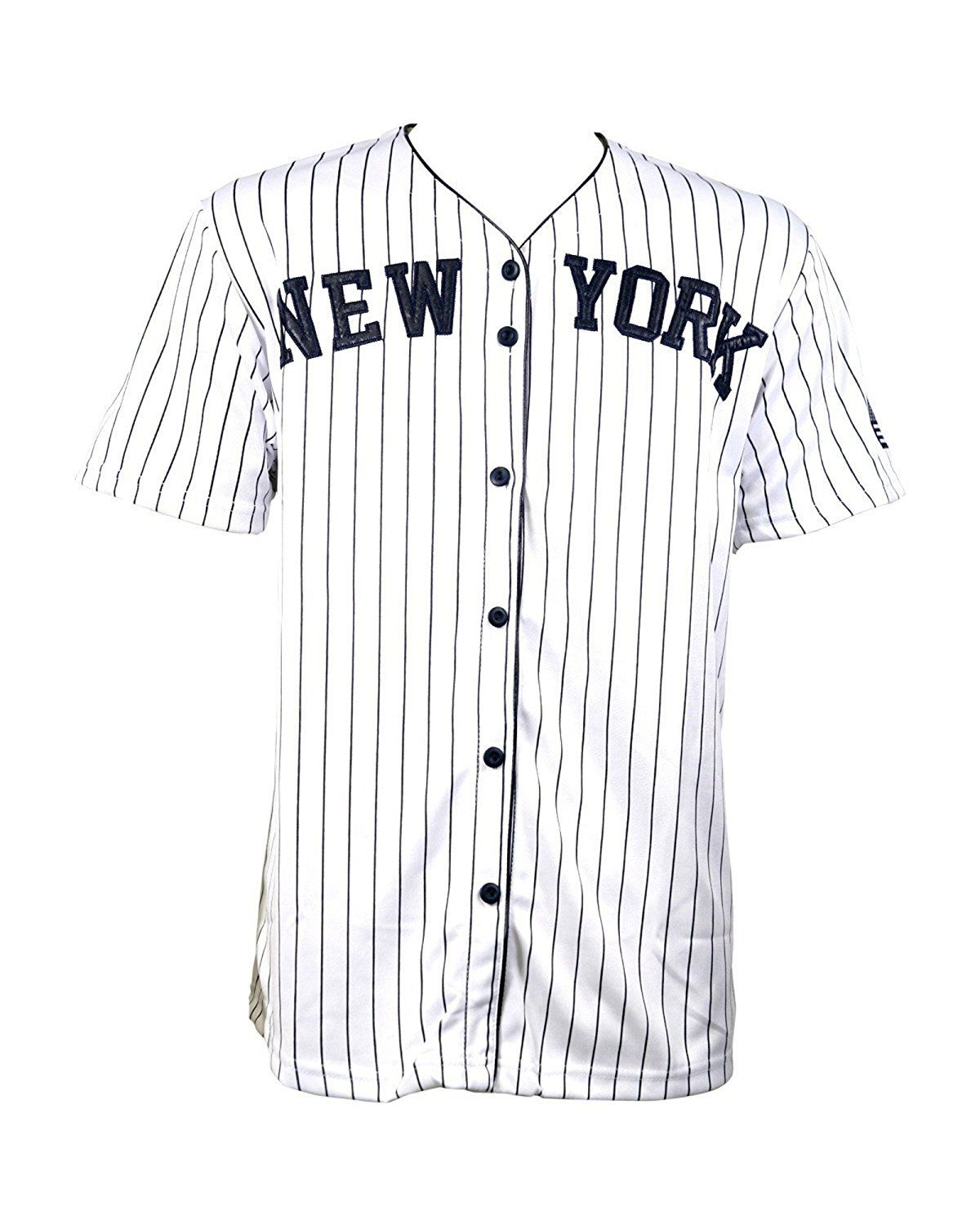 Men's New York Baseball Jersey, Custom The Name and The Number Jerseys