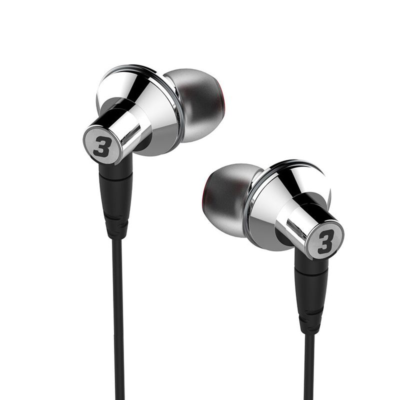 DUNU TITAN 3 HiFi Inner-ear Earphone Titanium Diaphragm Dynamic High Fidelity Earphones with MMCX connector TITAN3 TITAN-3