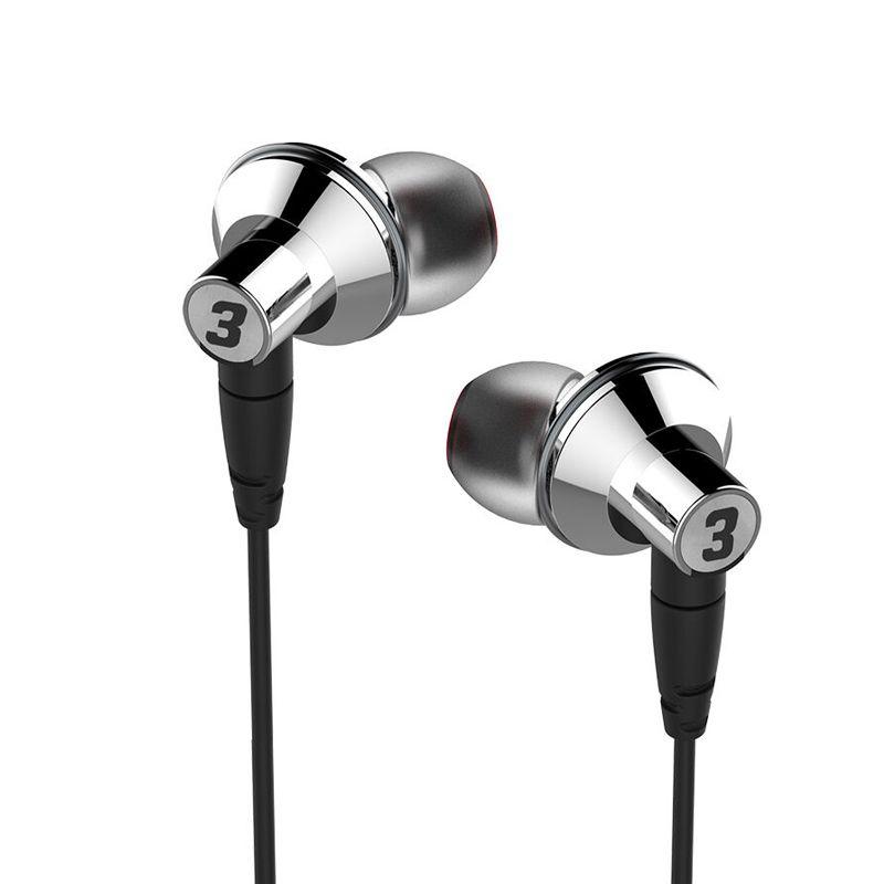 DUNU TITAN 3 HiFi Inner-ear Earphone Titanium Diaphragm Dynamic High Fidelity Earphones with MMCX connector TITAN3 TITAN-3