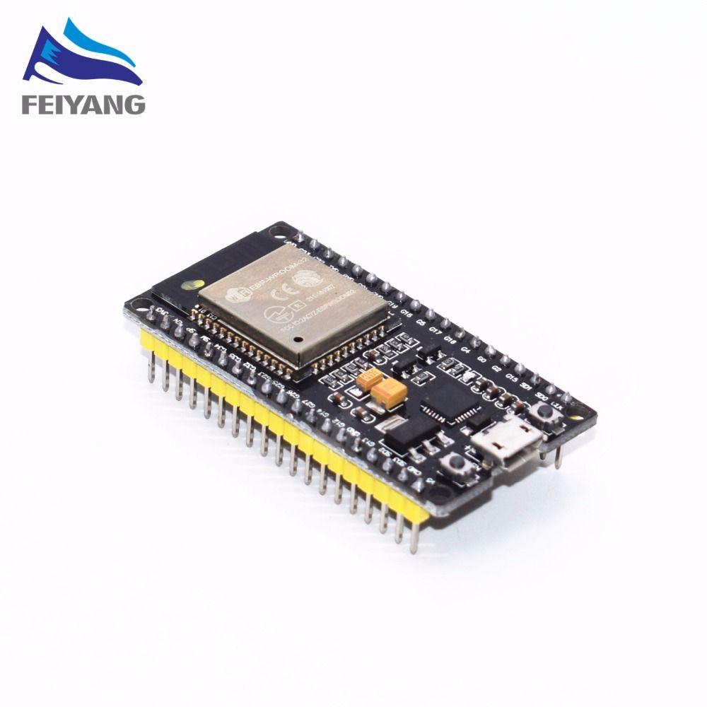 ESP-32 ESP32 Wireless WiFi Bluetooth Development Board 2.4GHz CP2102 Micro USB Dual Core Module ESP-32S Similar ESP8266