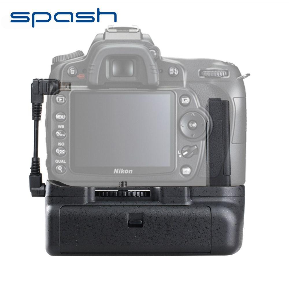 Poignée de batterie verticale spash pour NIKON D5100 D5200 D5300 DSLR caméra multi-puissance caméra support de batterie accessoires BG-2G