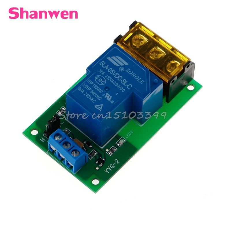 1 Kanal 5 V 30A Relais Board Modul Optokoppler Isolation High/Low Trigger G08 Drop ship
