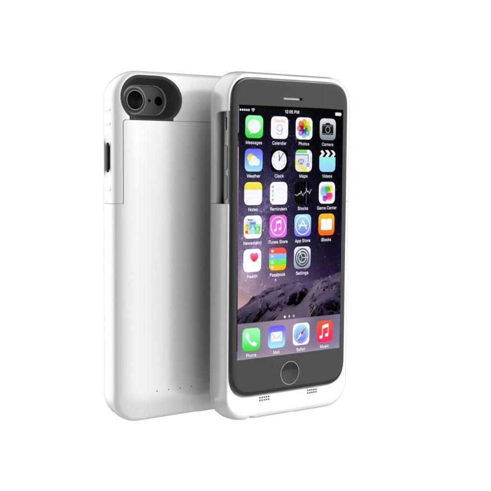 Vente chaude Batterie Portable 3200 mah/4000 mAh Puissance Banque Puissance Banque Protecteur Cas Pour Apple iPhone 7 8 4.7