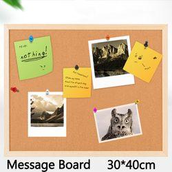 12 мм пробковая доска коричневая доска объявлений пробковая доска для сообщений доска для ногтей стиль доска для заметок 30*40 см