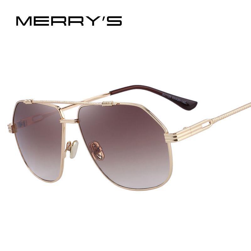 MERRY'S DESIGN Men/Women Classic Square Sunglasses 100% UV Protection S'6201