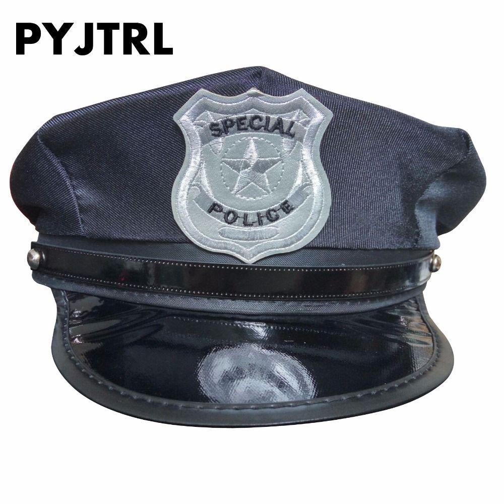 PYJTRL Police Chapeau Chapeaux Cap Uniforme Tentation Octogonale Ds Costumes Militaires Chapeaux Chapeau de Marin Casquette Army DS190M