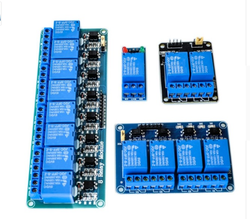 5V 1 2 4 8 channel relay module with optocoupler. Relay Output 1 2 4 8 way relay module for arduino In stock