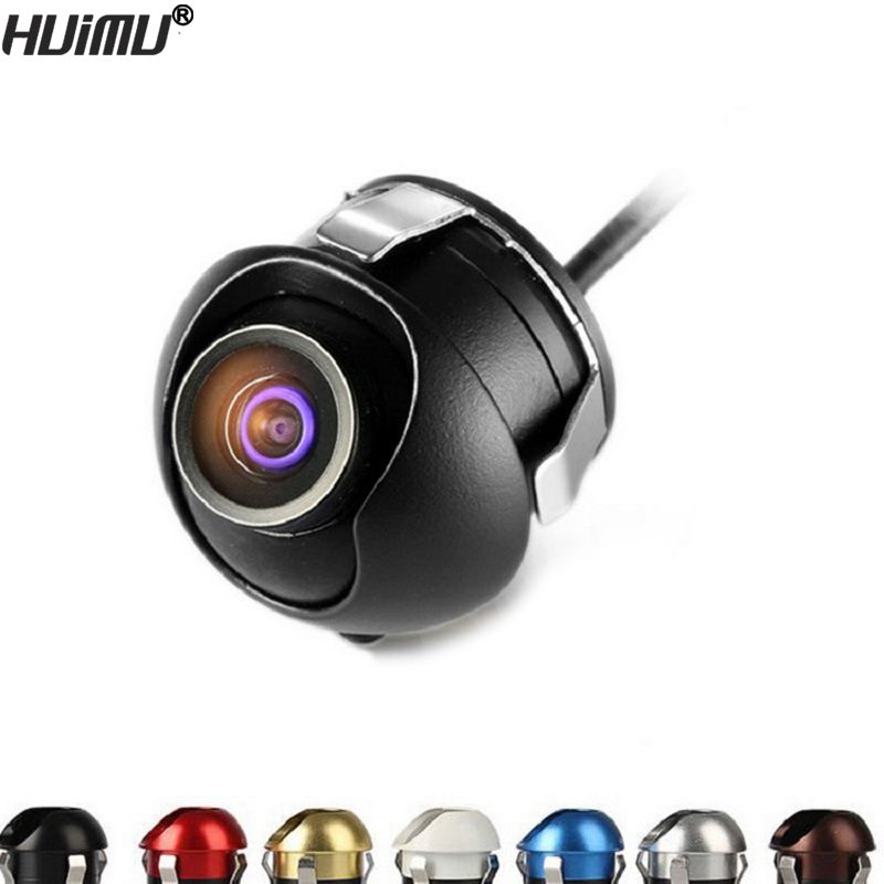 CCD HD night vision car camera front/<font><b>side</b></font>/left/right /rear view camera 360 degree Rotation universal car reverse backup camera