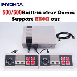 MYOHYA HDMI Sortie Rétro Classique de poche joueur de jeu Famille TV jeu vidéo console Enfance Intégré 500/600 Jeux mini Console