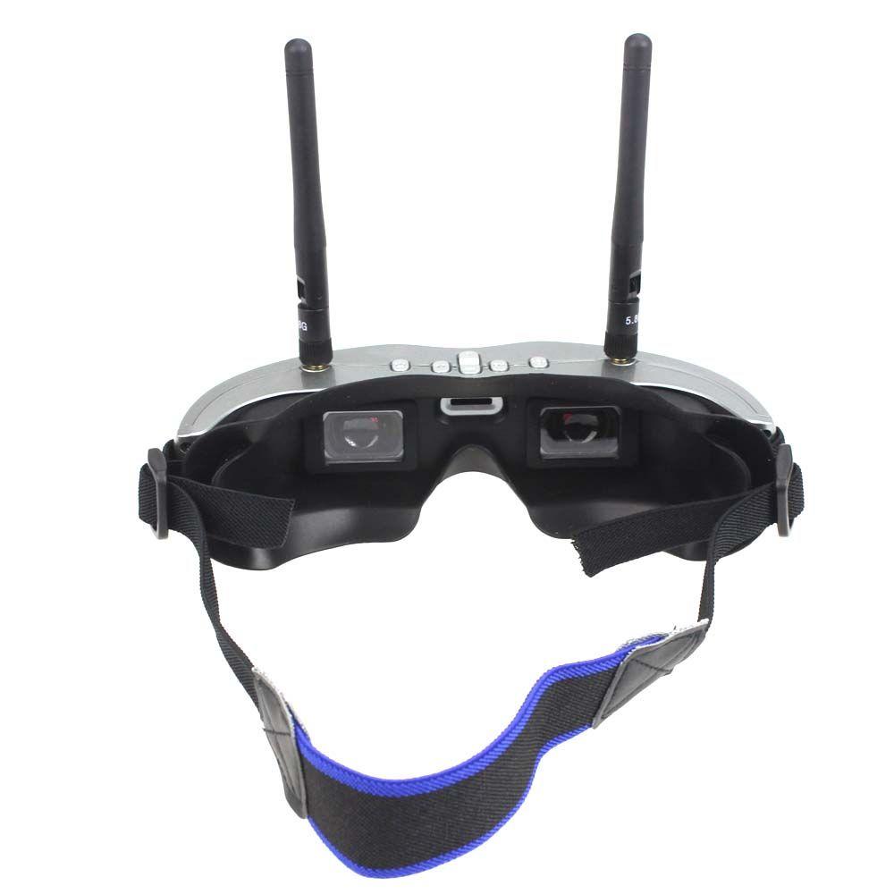BOSCAM GS922 5.8G 32CH Dual Diversity Binocular Video FPV Goggle Glasses with DVR
