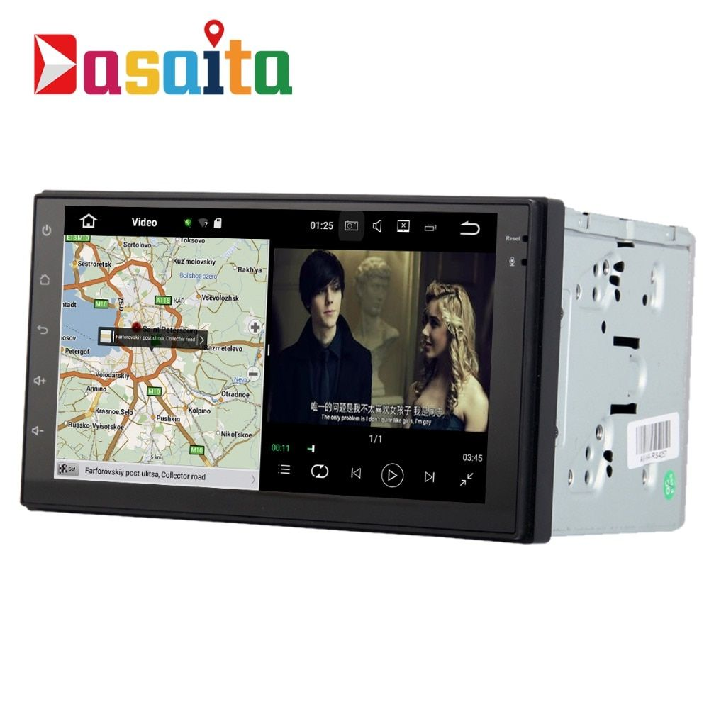 2 Din Radio Android for Nissan / Universal Model car Audio headunit Radio browser Free map , factory fast shipping