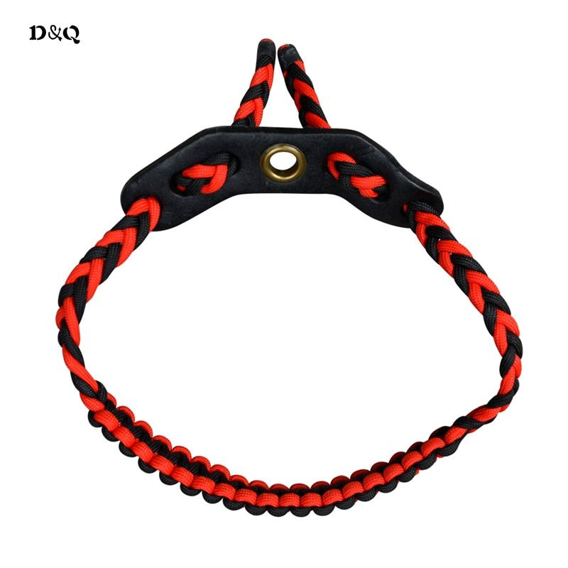 D&Q Compound Bow Wrist Sling Strap for Archery Hunting Shooting Target Practice Sports Accessories Adjustable Braided Nylon Cord