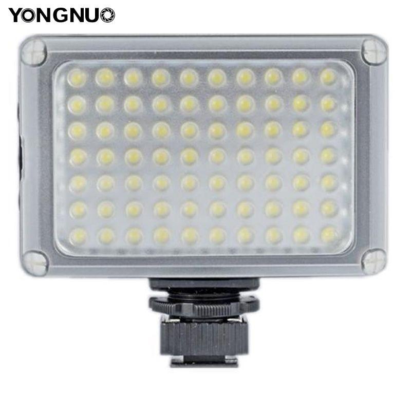 YONGNUO yn-0906ii 70-LED ультра яркие Камера видео для Canon Nikon Olympus Panasonic Samsung