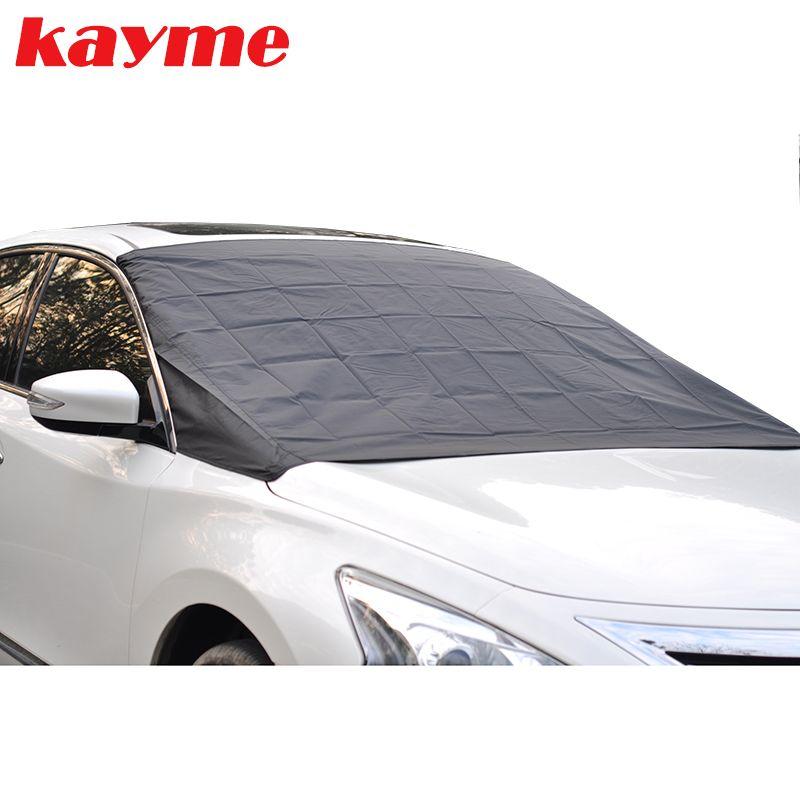 Kayme voiture pare-brise pare-soleil auto magnétique pare-brise protecteur anti gel neige glace pare-brise pare-soleil pour BMW lada toyota